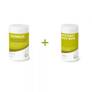 Pack detox : Chloralig + Artichaut-Radis Noir HTVE®