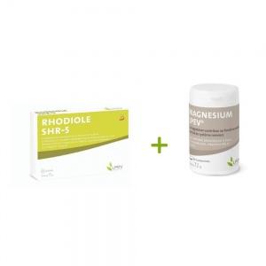 Pack stress-résilience : Rhodiole SHR-5 + Magnésium LPEV®